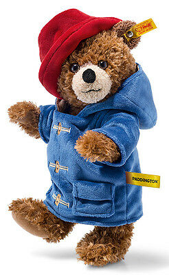 Steiff Paddington Teddy Bear plush & jointed - EAN 690204 - 28cm - BNIB