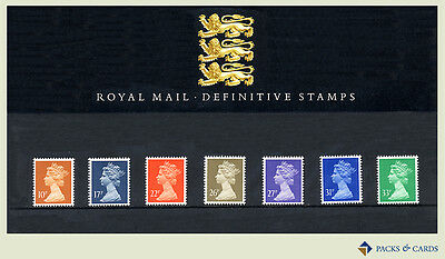 1990 Machin 10p to 33p Definitive Stamp Presentation Pack PPD46 (printed no.22)