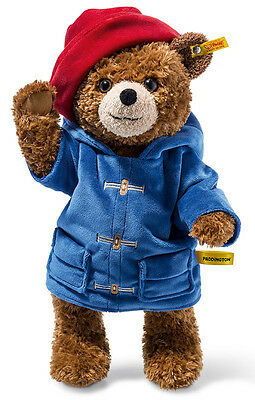 Steiff Paddington Teddy Bear plush & jointed - EAN 690198 - 38cm - BNIB