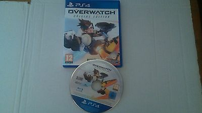 OVERWATCH  PS4 Playstation 4 PAL FR COMPLET