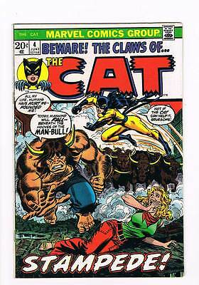 Claws of the Cat # 4 Starlin Weiss Man-Bull grade 8.0 scarce book !!
