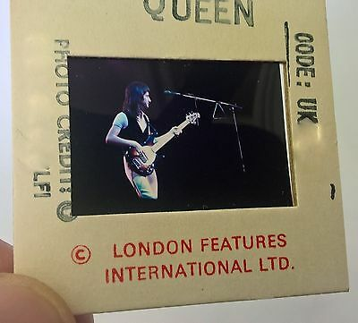 QUEEN 35mm x 35mm SLIDE Negative - Original UK Archives - Rare Promo Vintage!  4