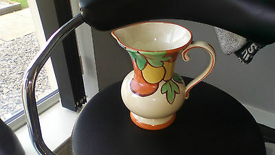 CLARICE CLIFF Handpainted jug No B/Stamp