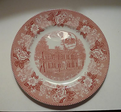Staffordshire CHINA PLATE Meakin Mfg. BARDSTOWN Kentucky Home Stephen Foster