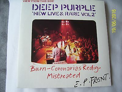 ' Deep Purple ' - ' New Live & Rare - Vol 2 ' - 1St Press  - Collectable