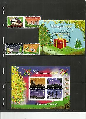 Papua New Guinea Scott 1350-3 And 1354 And 1355 Mnh Scv $28