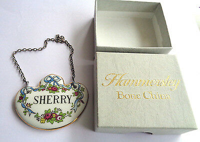 Hammersley Decanter  Label
