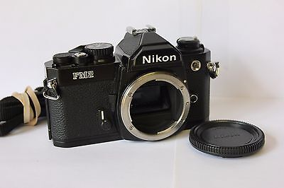 Nikon FM2N Black 35mm SLR Film Camera Body . Free Warranty