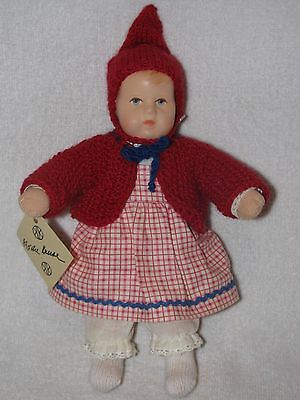 "8"" Kathe Kruse Doll Jane on the Spot - Bambino from UFDC 1998 Convention"