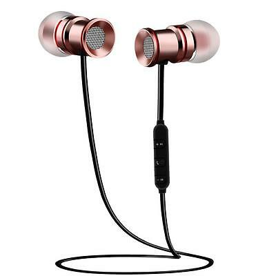 Bluetooth Wireless Headphones With Mic and Attraction Fitness Sports Headphones
