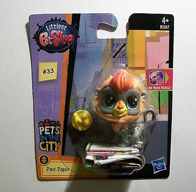 LITTLEST PET SHOP Pets In The City #33 PAVI PAPIO Height 5.5cm