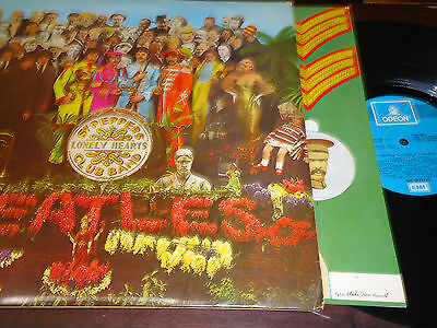 "THE BEATLES - Sgt. Pepper's Lonely Hearts Club Band, LP 12"" SPAIN 1976 GATEFOLD"