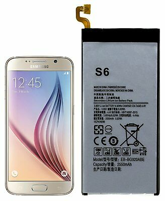 Replacement Battery for Samsung Galaxy S6 G920 with Tools
