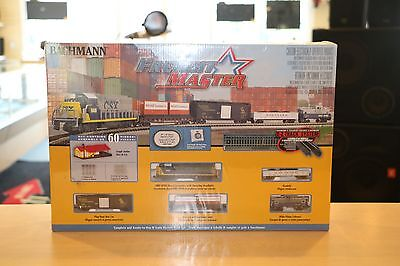 Bachmann Freight Master (N Scale) 60 Piece Electric Train Set #24022 Brand New