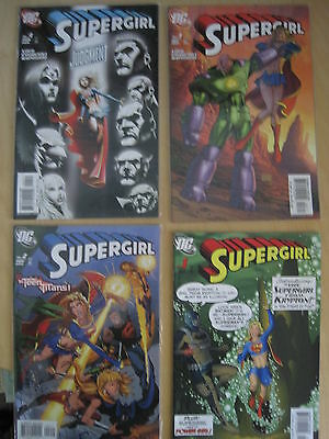 SUPERGIRL : ISSUES 1,2,3,4 by JEPH LOEB & IAN CHURCHILL. 2005 DC SERIES