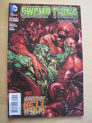 SWAMP THING  # 33  by CHARLES SOULE. 1st PRINT. THE NEW 52. DC.2014