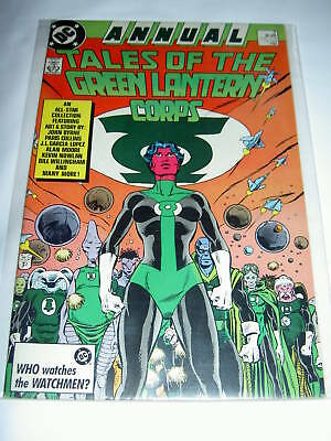 Tales Of Green Lantern Corps 3  By Alan Moore. 1987. Dc