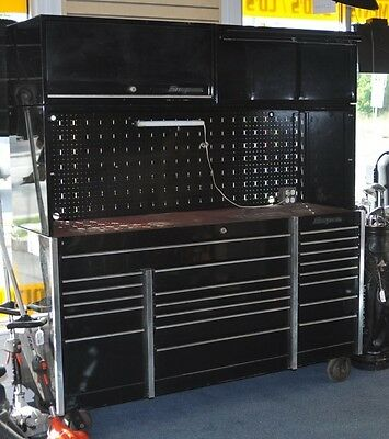 Snap on 4pc 20 Drawer Toolbox Workstation (Black) Pre-owned Local Pickup ONLY NJ