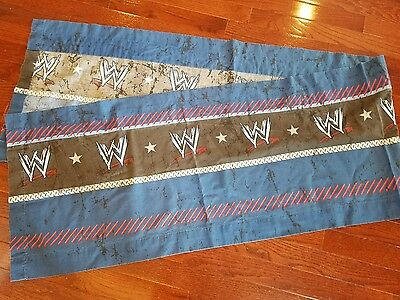 WWE Valance Childrens Wrestling 80 inches by 17 inches