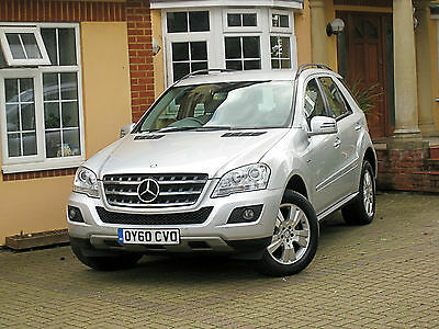 2010 MERCEDES-BENZ ML300 SE CDI BlueEFFICIENCY 73K MILES 1 OWNER LEATHER CRUISE
