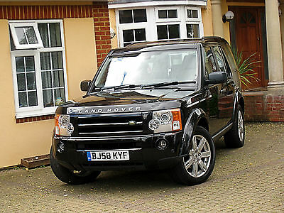2008/58 Land Rover Discovery 3 Hse Tdv6 Only 96K Miles Sat Nav Panoramic Roof