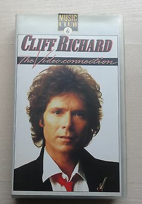 Cliff Richard The Video Connection  - Vhs Video