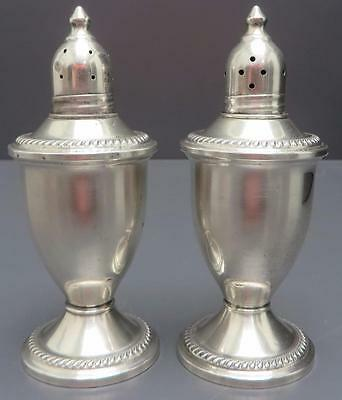 Vintage Duchin Creation Sterling Silver Salt and Pepper Shaker Set Weighted