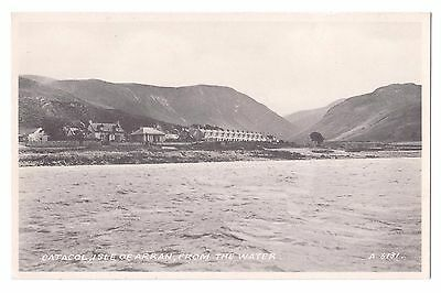 Old Postcard 'Catacol' Isle of Arran from the Water