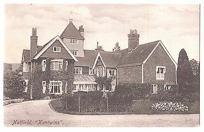 Old Postcard 'Kentwins House' Nutfield - Frith's