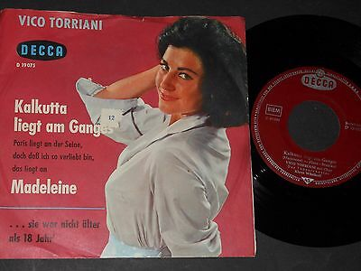 "Vinyl Single 7"" VICO TORRIANI Kalkutta liegt am Ganges"
