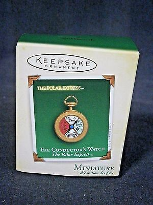 Hallmark The Conductor's Watch The Polar Express Dated 2005