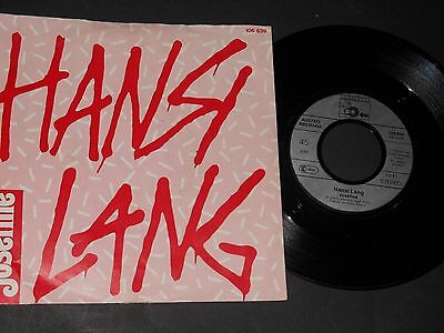 "Vinyl Single 7"" HANSI LANG Josefine aus 1984"