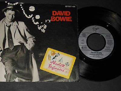 "Vinyl Single 7"" DAVID BOWIE Absolute Beginners aus 1986"