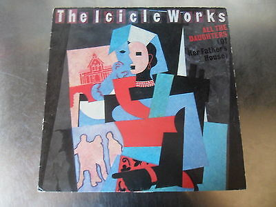 "The Icicle Works - All The Daughters 1st Press Vinyl 12"" Single A1 B1 EX EX"