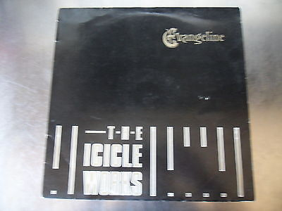 "The Icicle Works - Evangeline 1st Press Vinyl 12"" Single A1 B1 EX EX"