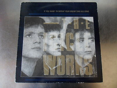 The Icicle Works - If You Want To Defeat Your Enemy... LP 1st Press A1 B1 EX EX