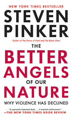 The Better Angels of Our Nature by Steven Pinker (2016, CD, Unabridged)