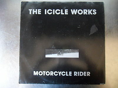 "The Icicle Works - Motorcycle Rider 1st Press Vinyl 12"" Single A1 B1 EX EX"