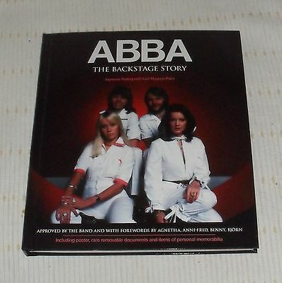 Abba Book,  The Backstage Story.  2014.  Isbn = 978-1-78177-1341. H/b In Folder.