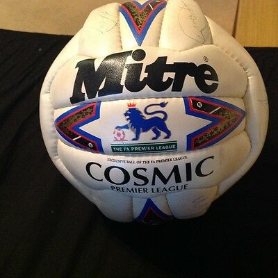 Signed Huddersfield Town football from 97/98 season never been blown up