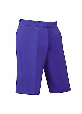 "Callaway Golf Flat Front Tech Shorts Clematis Blue 30"" Waist"