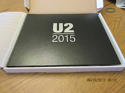UNOPENED 2015 Rare U2 TOUR Limited Edition VIP Concert Package Book100% Complete