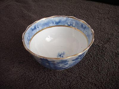 Willow Pattern Style Small Bowl