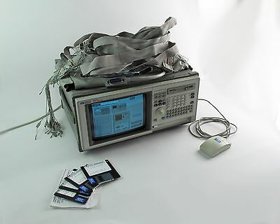 HP / Agilent 1661C 102-Channel Benchtop Logic Analyzer w/ Software, Probes, etc.