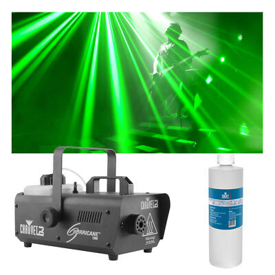 Chauvet DJ Lighting Hurricane 1000 Compact Fog Machine w/ Quart Fluid Package