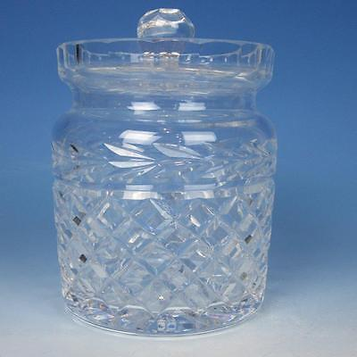 Waterford Crystal - Glandore Covered Biscuit Barrel Jar - 6½ inches
