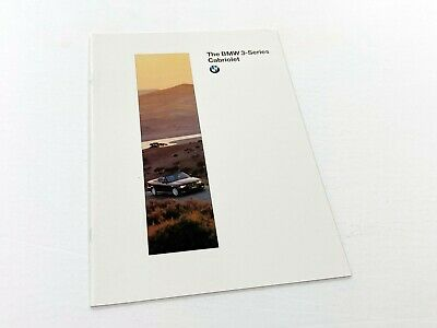 1996 BMW 3-Series Cabriolet Convertible 318i 328i E36 Brochure