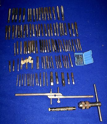 Assortment of 100 + Pre-Owned Machinist Taps by Assorted U.S. Manufacters