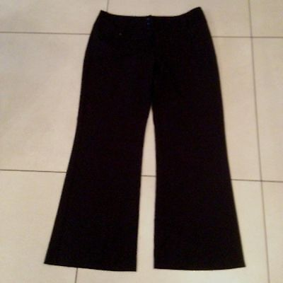 Black Smart Trousers from Dorothy Perkins. Size 14. New without tags.