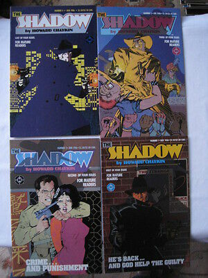 The Shadow - Complete Classic 4 Issue Mini Series By Howard Chaykin. Dc. 1986